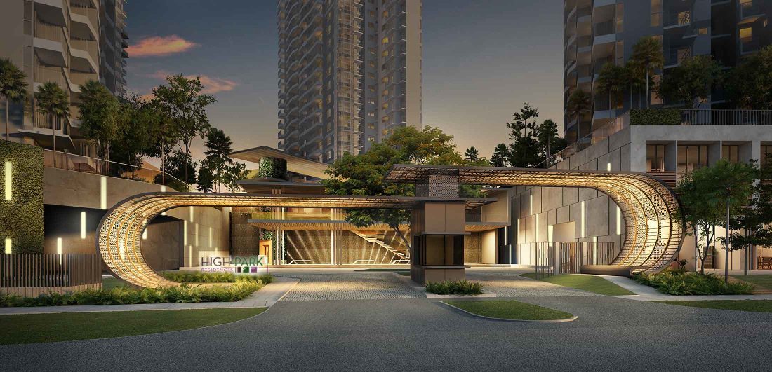 High Park Residences . By CEL . Developer for Grandeur Park Singapore