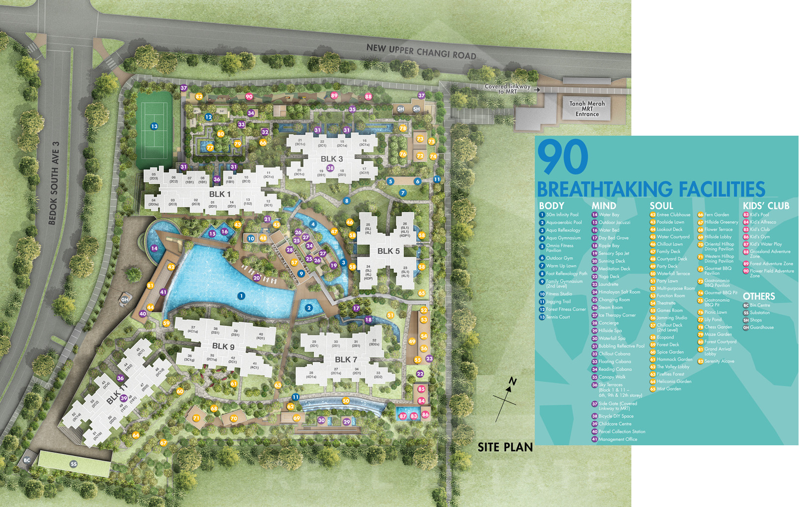 Grandeur Park Residences Site Plan Layout